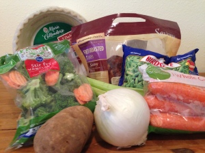 Chicken Pot Pie - Ingredients