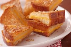 Grilled Cheese in Quarters