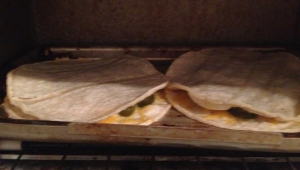 Quesadilla Baked - Done
