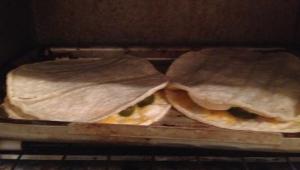 Quesadilla Baked - Done
