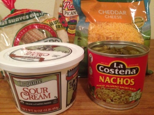 Quesadilla Ingredients